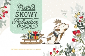 Pearl's Snowy Pearadise Holiday Kit