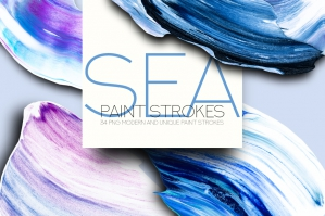 Sea Paint Strokes