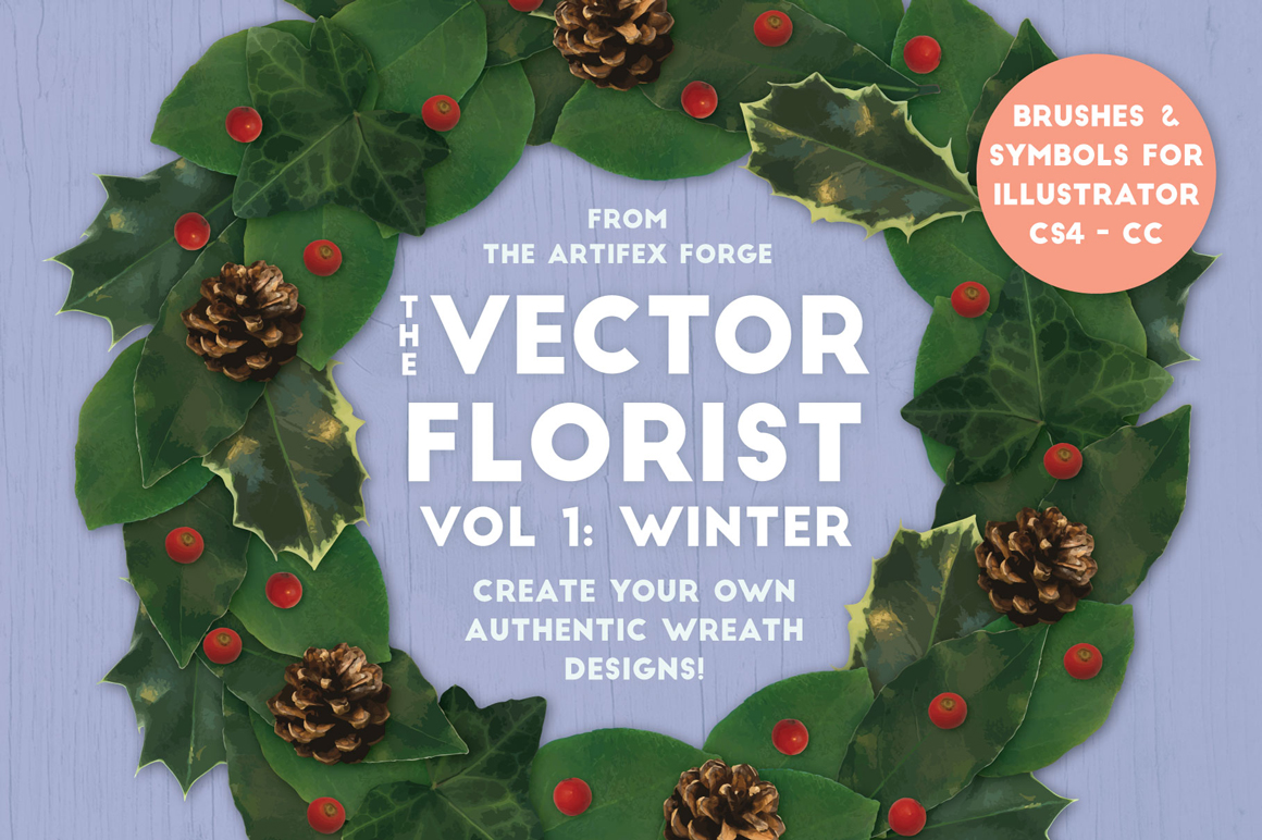 The Vector Florist - Brushes Winter