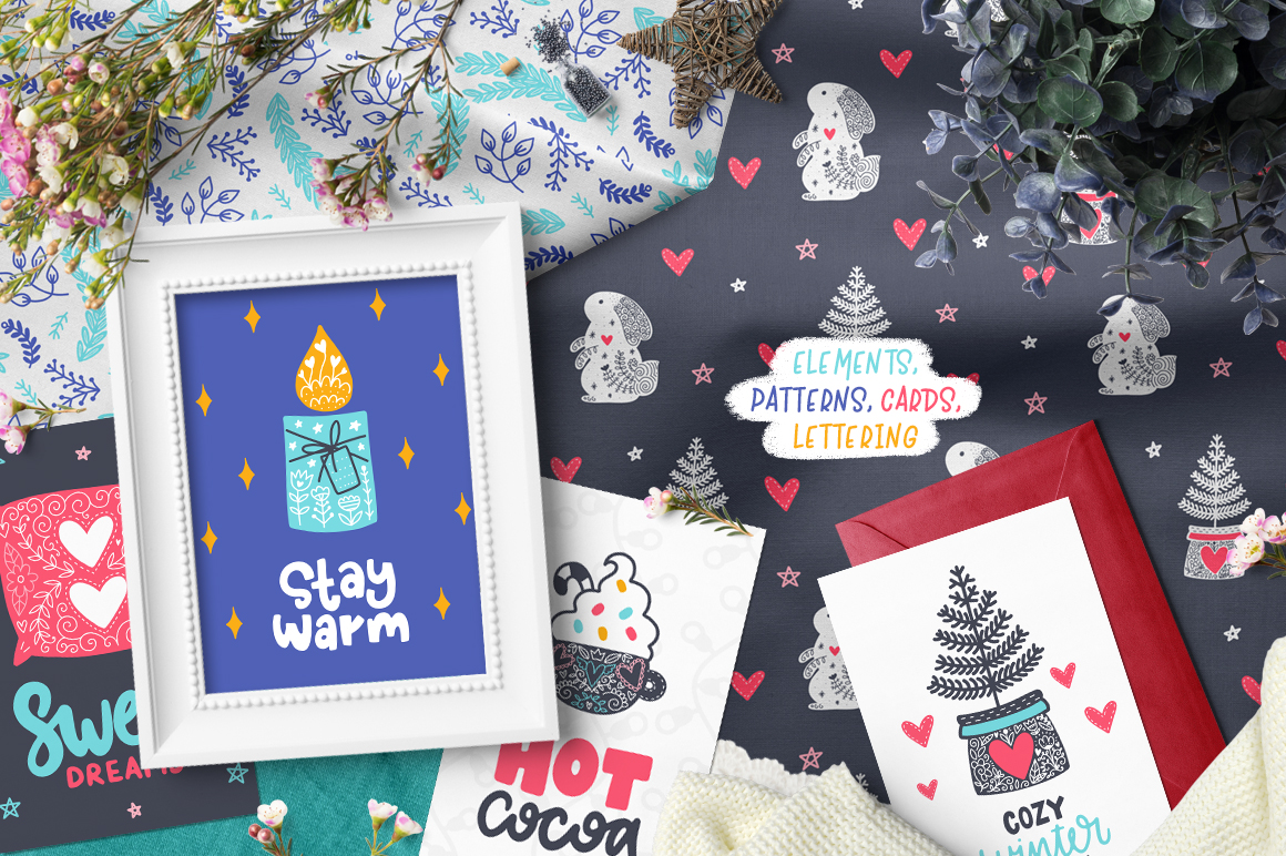 Time to Hygge - Clipart Collection