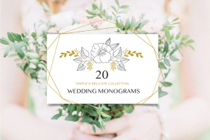 Wedding Boutique - Premade Logos