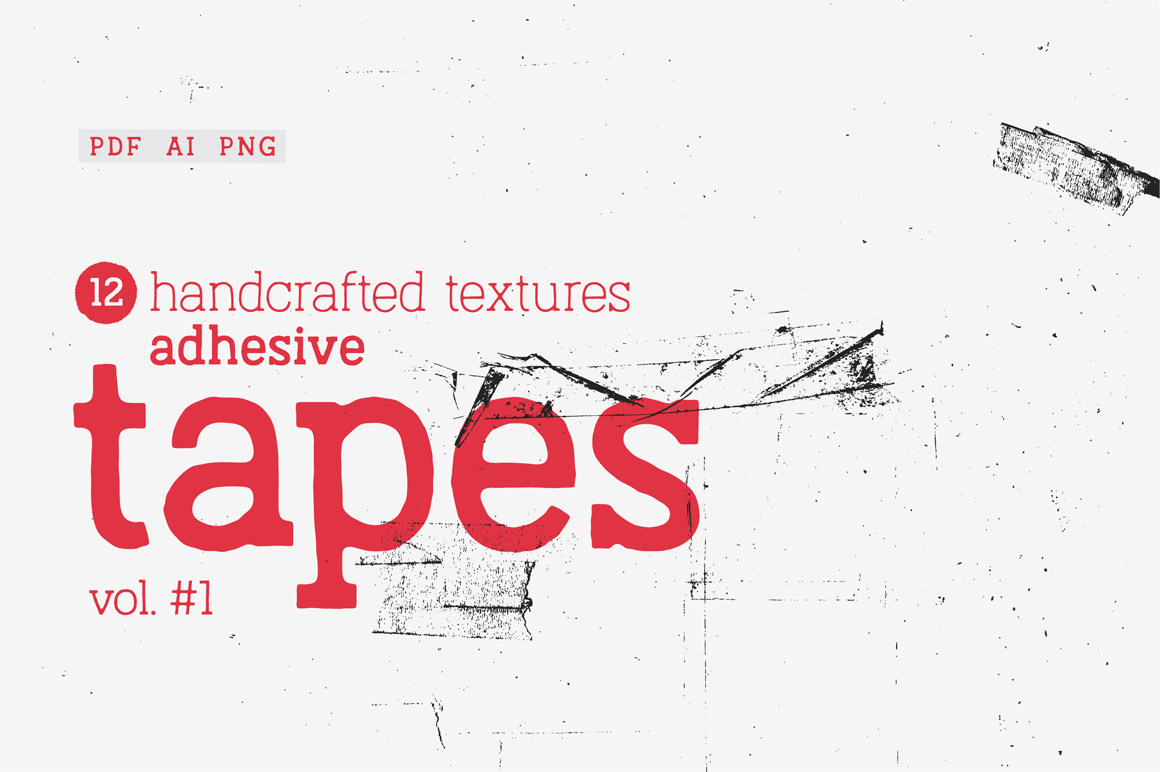 Adhesive Tapes Vol.1 Texture Pack