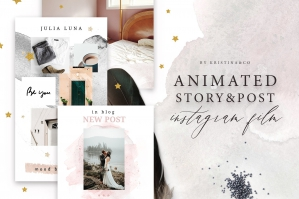 Animated Stories & Posts