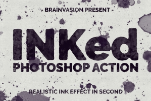 INKed - Photoshop Action