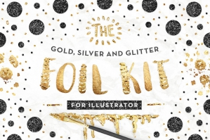 Illustrator Gold Foil Kit Essentials + Bonus