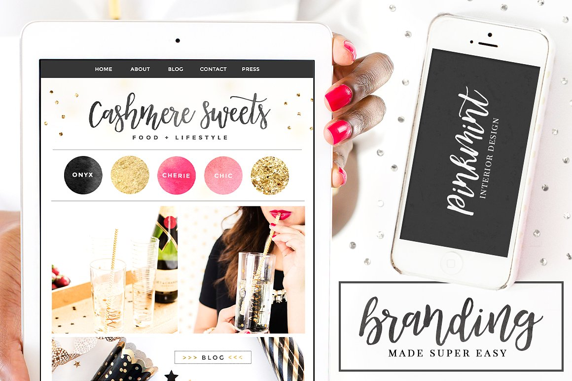 Mademoiselle Script Font + Extras