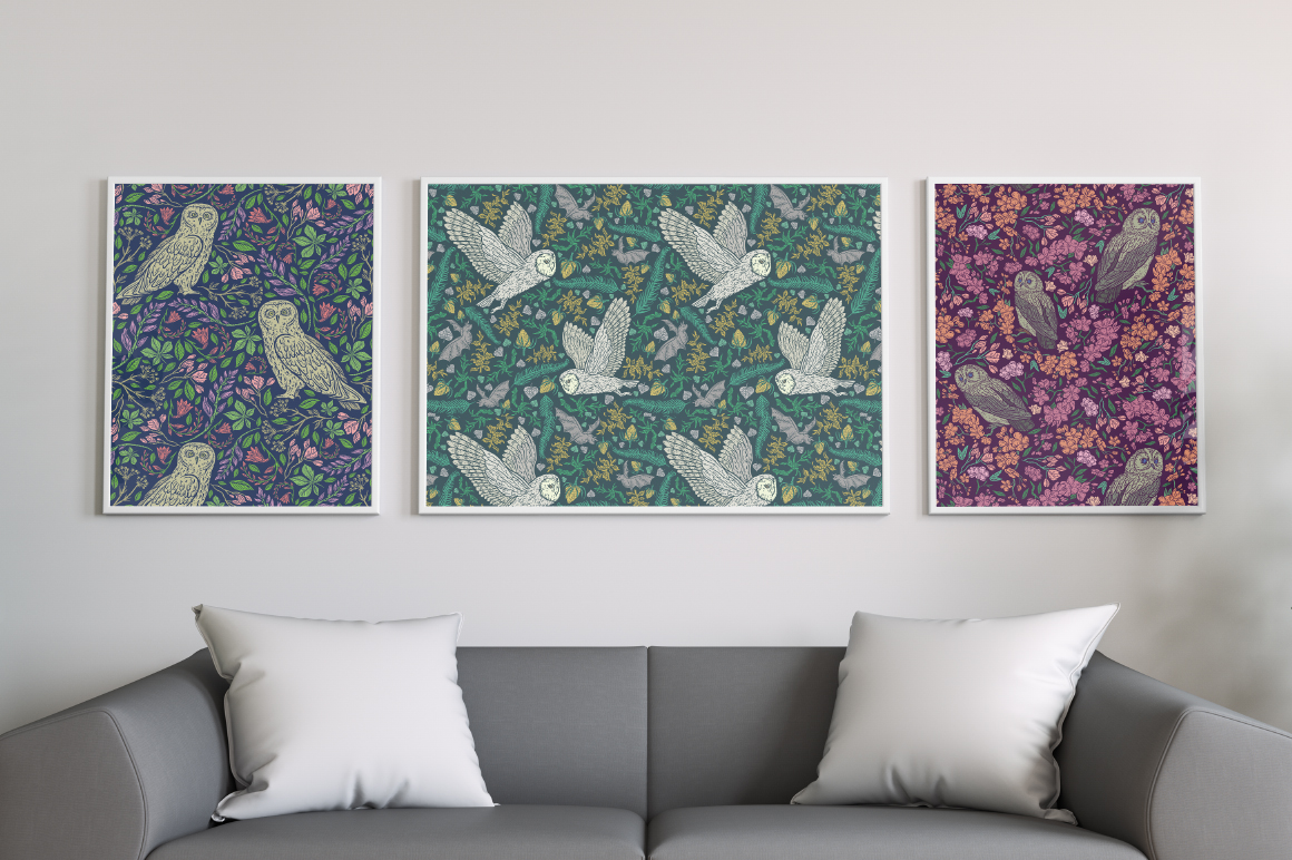Owls Graphic Collection