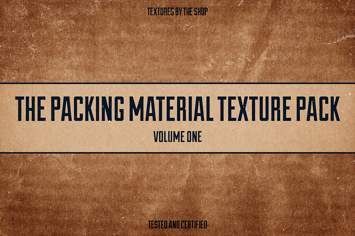 Packing Material Textures Volume 1