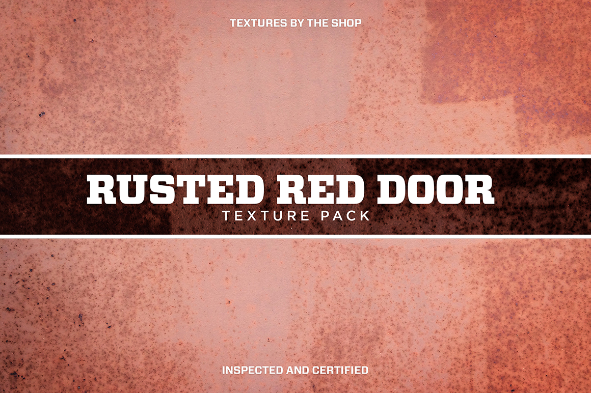 Rusted Red Door Texture Pack