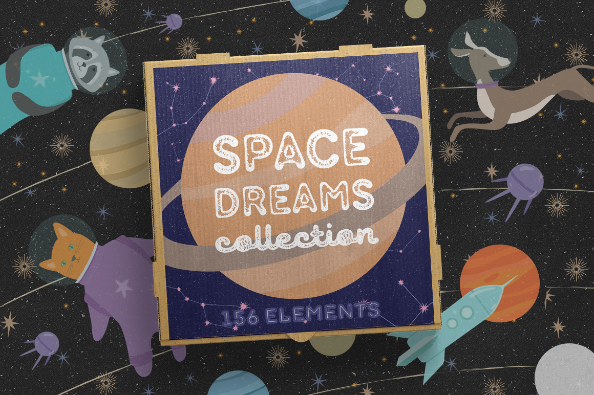 Space Dreams Graphic Collection