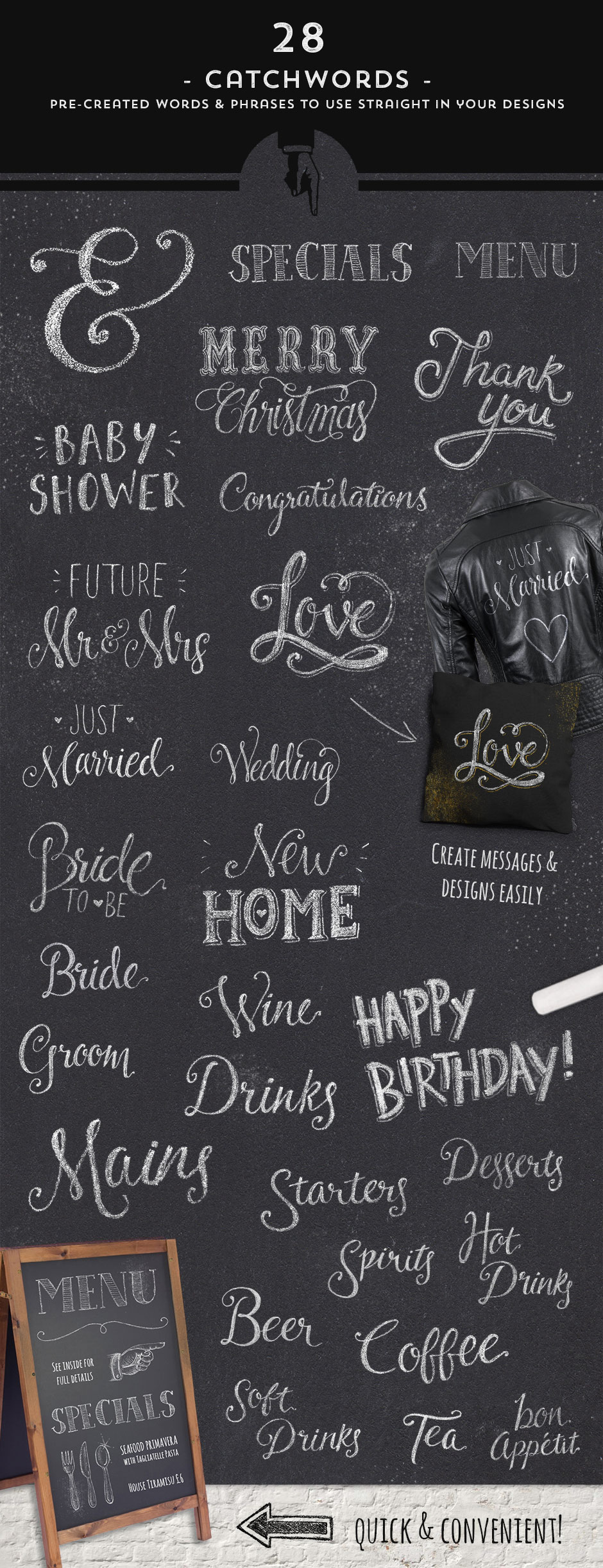 The Chalk Extravaganza Pack