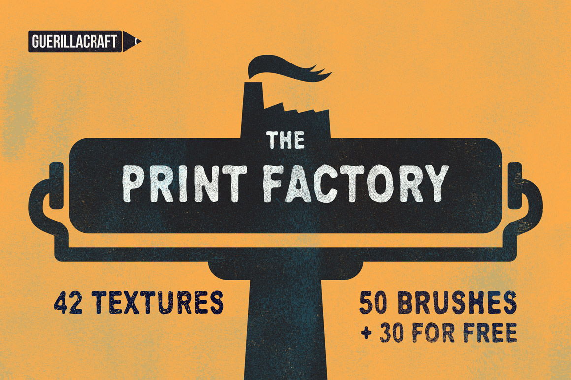 The Print Factory - Textures and Brushes