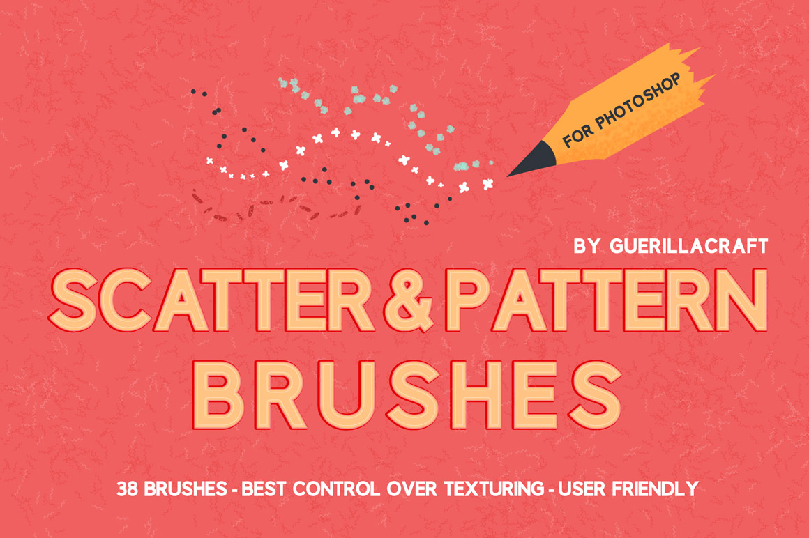 Scatter & Pattern Brushes for Adobe Photoshop