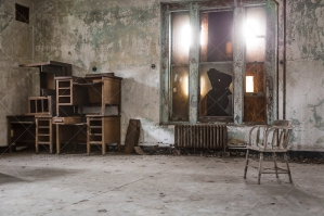 A Deserted Ward In Ellis Island Immigration Hospital No. 2