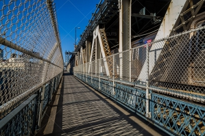 A View Along The Footpath On Manhattan Bridge No. 1