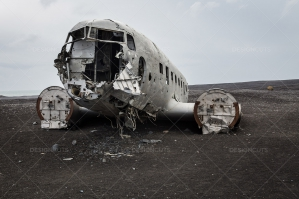 Crashed DC 3 Plane On Sólheimasandur Beach In Iceland No. 5