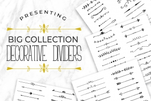 Big Collection Decorative Dividers