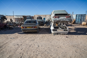 Car Repair Shop In The Sahara Desert