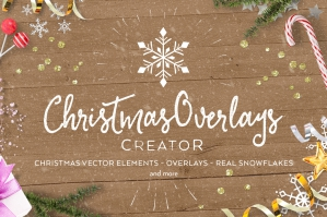 Christmas Overlays Creator