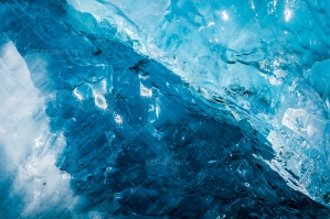 Close Up Of A Glacier Floating In Jökulsárlón Glacier Lagoon No. 1
