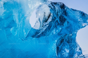 Close Up Of A Glacier Floating In Jökulsárlón Glacier Lagoon No. 2