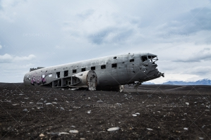 Crashed DC 3 Plane On Sólheimasandur Beach In Iceland No. 2