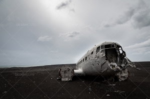 Crashed DC 3 Plane On Sólheimasandur Beach In Iceland No. 3