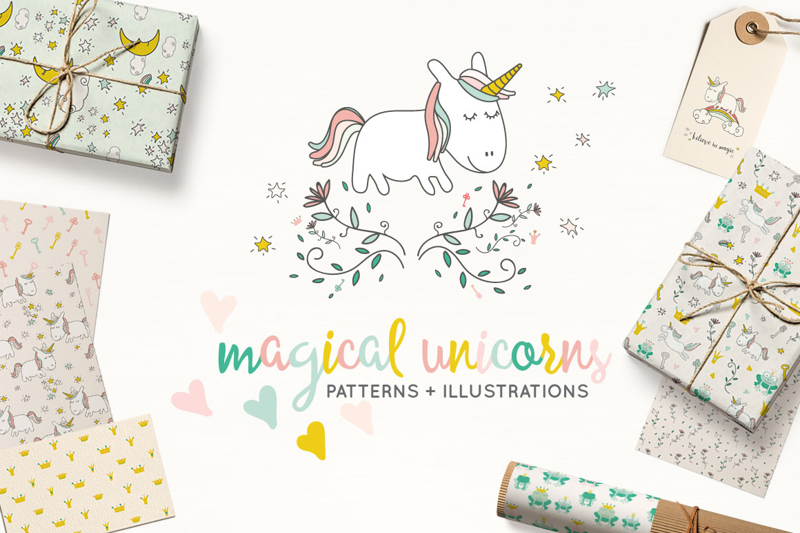 Fairytale Unicorn Patterns