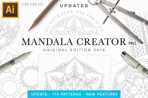 Mandala Creator For Illustrator - Original Edition