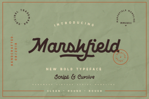 Marshfield Typefaces
