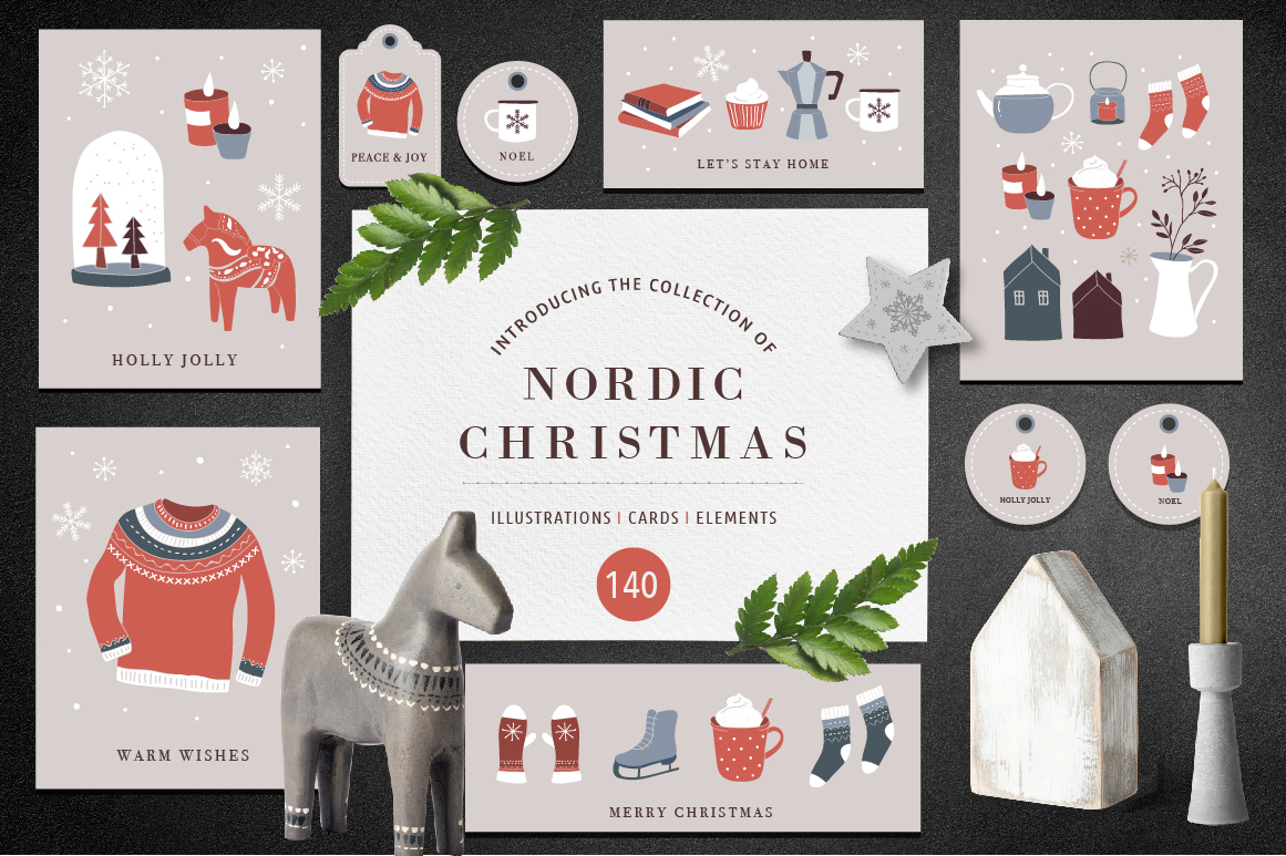 Nordic Christmas - Winter Collection