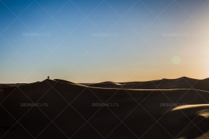 Sand Dunes In The Algerian Sahara No. 4