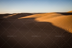 Sand Dunes In The Algerian Sahara No. 5