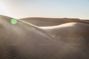 Sand Dunes In The Algerian Sahara No. 6