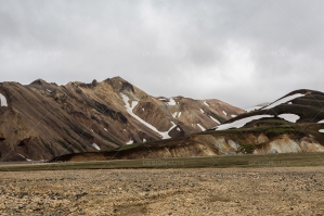 Snow On The Hills Of Landmannalaugar No.3