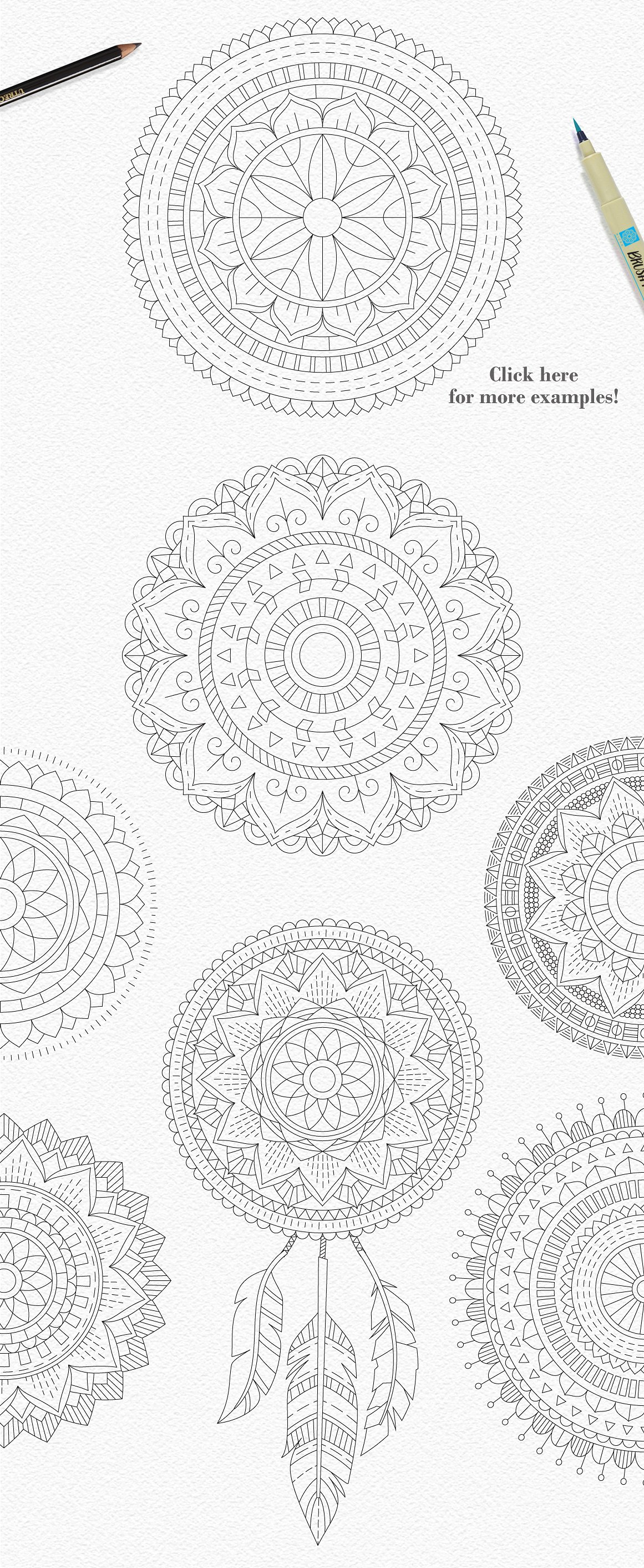 Tribal Mandala Dream Catcher Illustration Creator