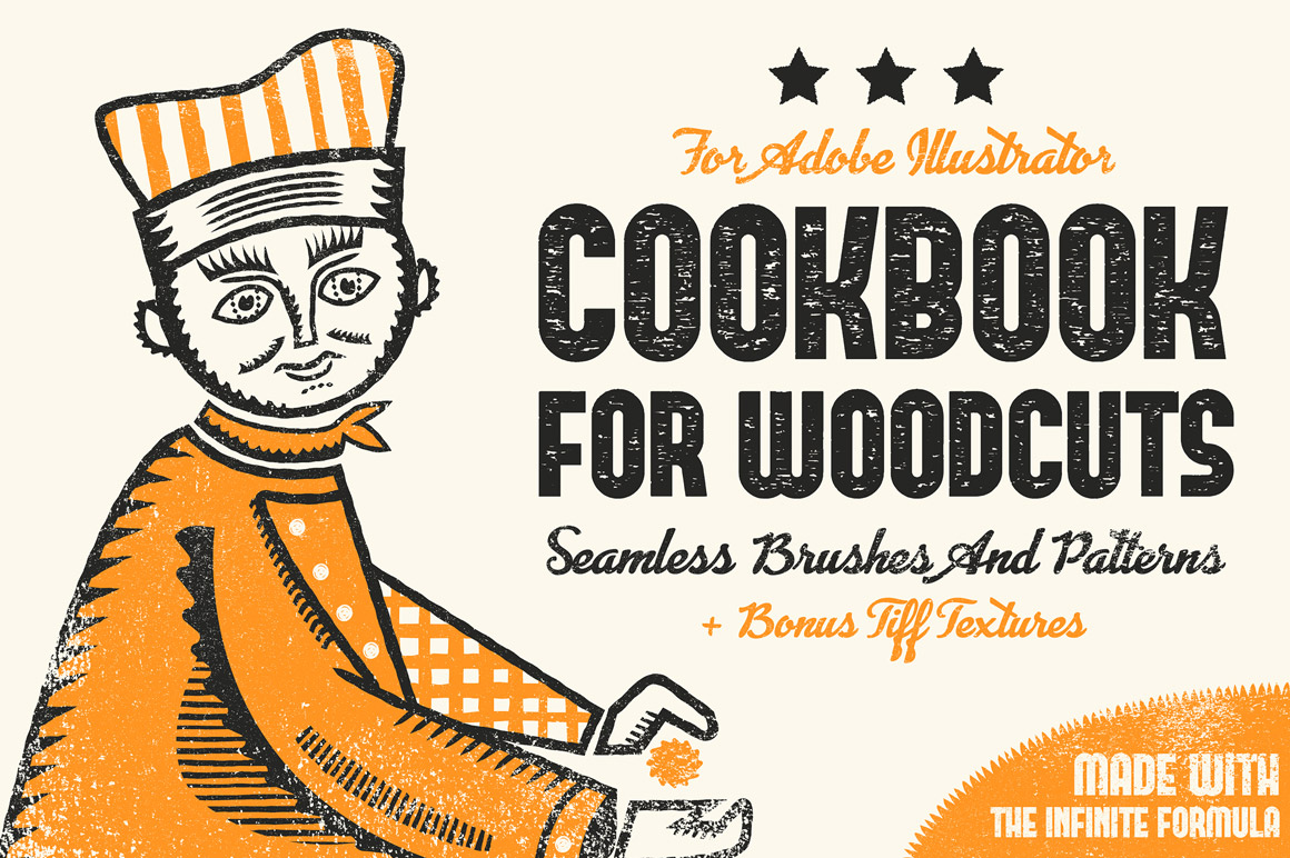 Cookbook for Woodcuts - Brushes and Patterns