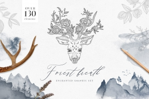 Forest Breath - Enchanted Graphic Set