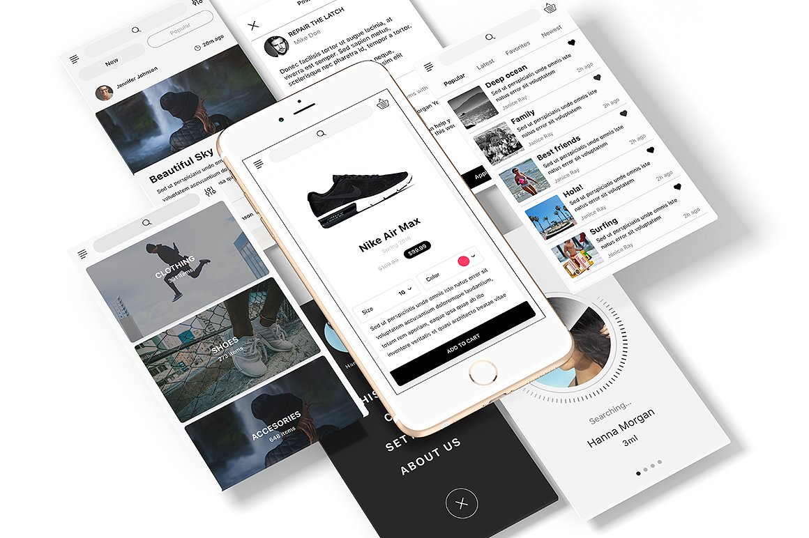 UI Kit for IOS Designers and Developers
