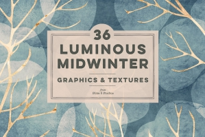 36 Luminous Midwinter Graphics