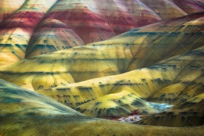 Colorful Painted Hills Of The John Day Fossil Beds