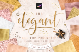 Elegant Kit For Procreate