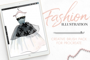 Fashion Illustration Toolset For Procreate