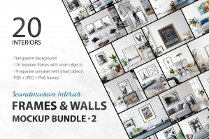 Frames & Walls Scandinavian Collection Vol 2