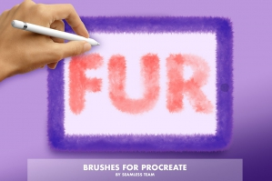 Procreate Fur and Hair Brushes