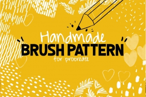 Handmade Brush Pattern For Procreate