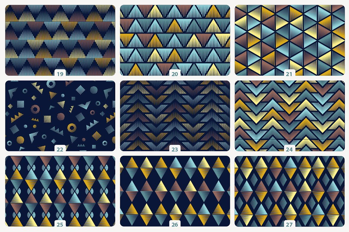 Quick Tiles - Engraved Seamless Patterns