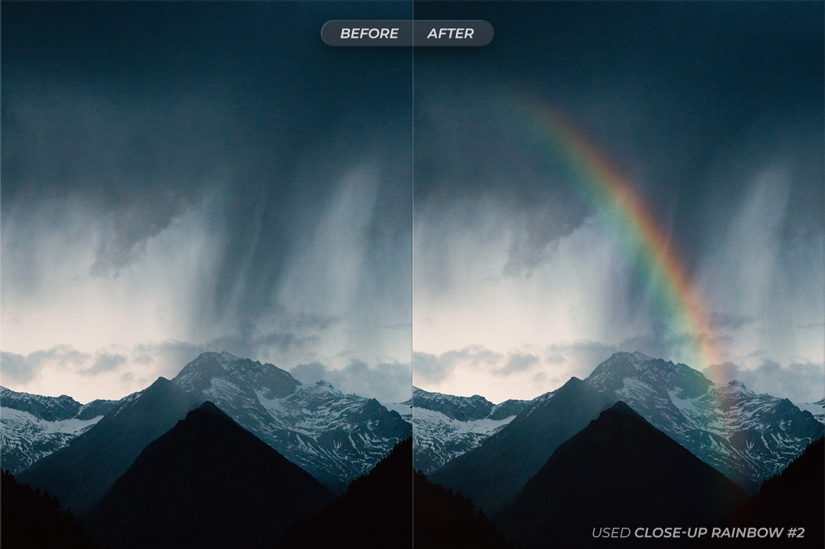 Rainbows For Photoshop