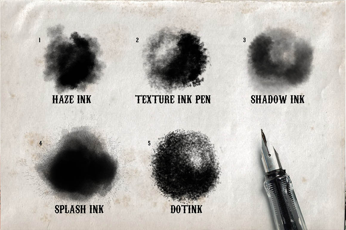 Real Ink Brushes For Procreate