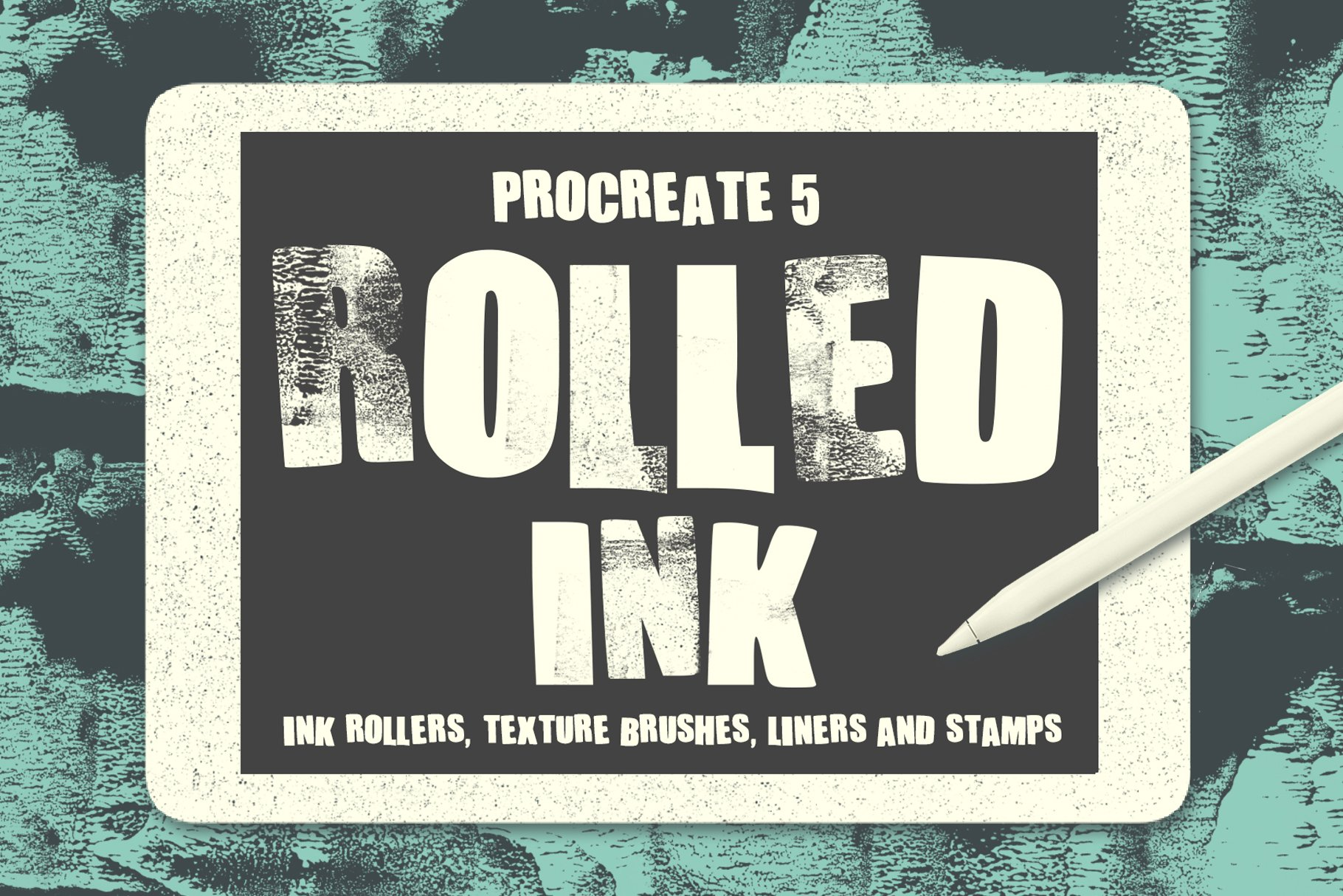 Rolled Ink Brushes For Procreate 5